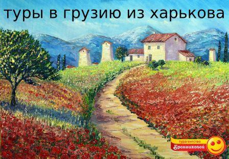Туры в Грузию из Харькова